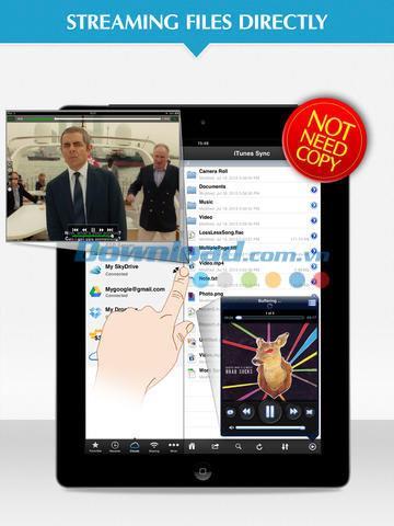 Navigateur cloud pour iOS 1.1 - Accéder aux services cloud sur iPhone / iPad