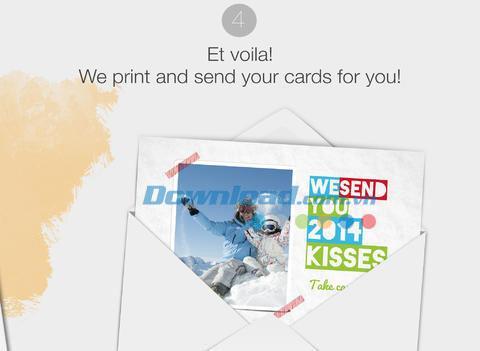 Popcarte für iOS 3.2 - Beeindruckendes Postkarten-Design auf iPhone / iPad