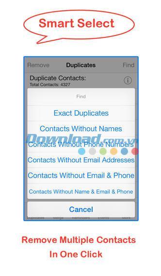 iOS6.4の重複する連絡先とイベントを削除する-iPhone / iPadで重複する連絡先を削除する
