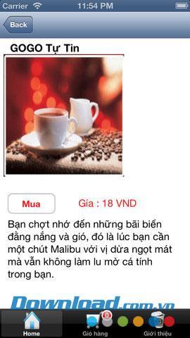 GOGOcoffee pour iOS 1.0.2 - Service de commande de café mobile