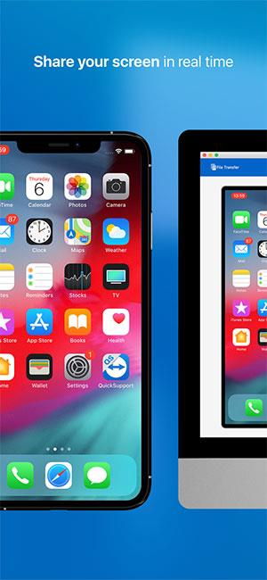 TeamViewer QuickSupport for iOS15.13.1-コンピュータでiPhoneを制御する