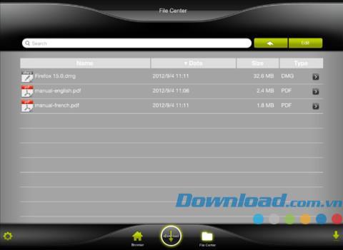 xDownload HD Lite für iOS 1.8.1.3 - Ein kostenloser Download-Manager für iPhone / iPad
