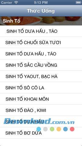 Vietnamesische Getränke für iOS 1.0 - Rezepte für Getränke