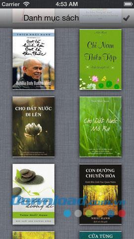 Buchreihe von HT.  Thich Nhat Hanh für iOS 1.0 - Buch über den Mönch Thich Nhat Hanh