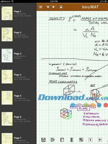 smartNote Free for iPad3.0-iPad用の包括的なノート管理
