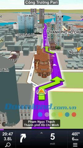 Sygic Viettel Edition pour iOS 12.1 - Logiciel de navigation par satellite