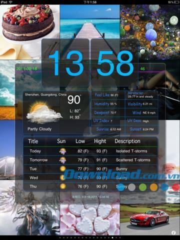 Weather Show HD Free pour iPad 1.8 - Application météo multifonctionnelle pour iPad