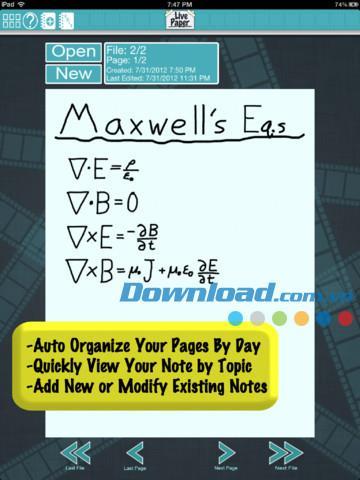 LivePaper Free pour iPad 1.5 - Notes vidéo pour iPad