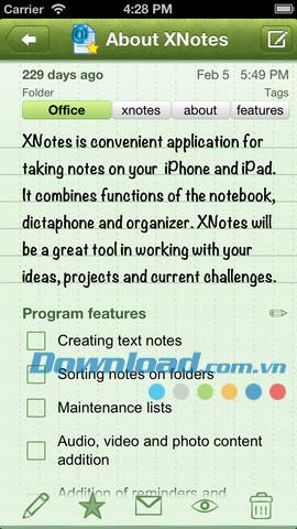 XNotes Lite for iOS 1.0.0-iPhone / iPad用のNotesマネージャー