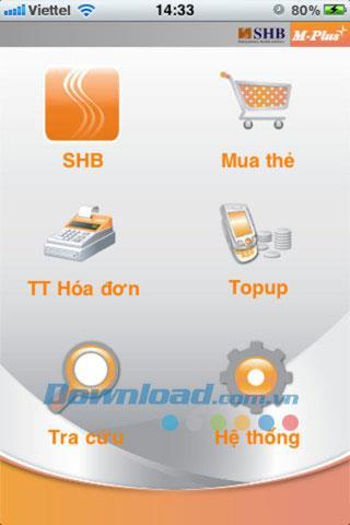 SHB M-Plus pour iOS 3.8.1 - Outil de paiement