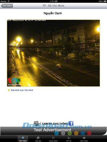 iPad1.8用カメラGTVNHD-交通状況の追跡