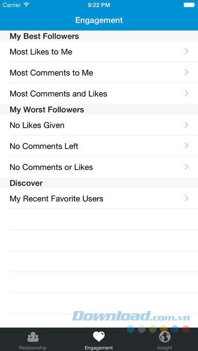 iOS3.4用InstagramのWhoUnfollow-Instagramのフォローを解除したのは誰ですか?
