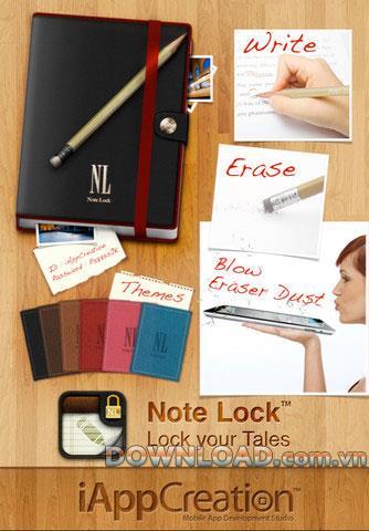 Note Lock Free pour iOS 1.0.4 - Notes sécurisées pour iPhone / iPad