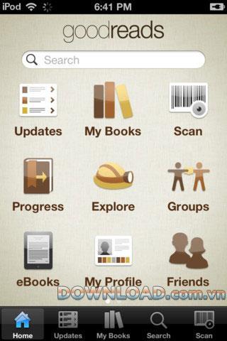iOS向けGoodreads-iPhoneで本を読んで共有する