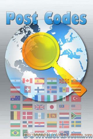 Recherche de codes postaux pour iOS - Logiciel de recherche de codes postaux pour iPhone