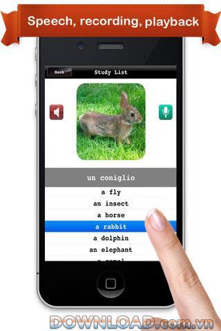 Apprendre l'italien pour iOS - Logiciel d'apprentissage de l'italien pour iPhone