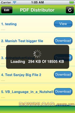 PDF Distributor für iOS - Eine sichere PDF-Dateifreigabesoftware für das iPhone