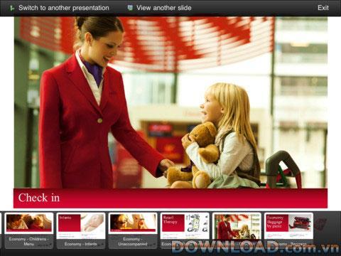 PresentiaFX pour iPad - Gestionnaire de fichiers d'application pour présentation iPad
