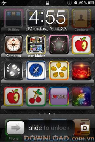 iOS用の無料アイコンメーカー-iPhone用の無料アイコンメーカー