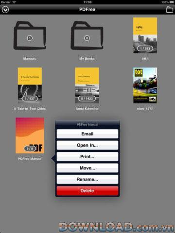 PDFree pour iPad - Logiciel de lecture de PDF sur iPad
