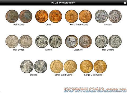 PCGS Photograde HD für iPad - HD-Münzfotosammlung für iPad