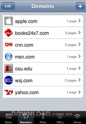 iSaveWeb Lite pour iOS - Logiciel pour enregistrer le site Web pour iOS