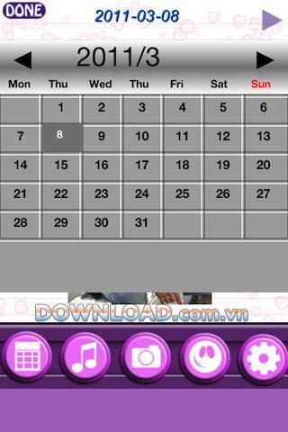 Amazing Secret Diary Lite pour iOS - Un outil de journal sur iPhone