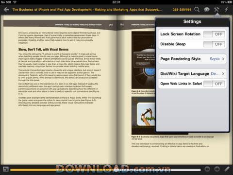 PerfectReader foriPad-iPadでPDF電子ブックを読むためのツール