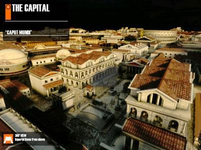 Histoire virtuelle ROMA pour iPad