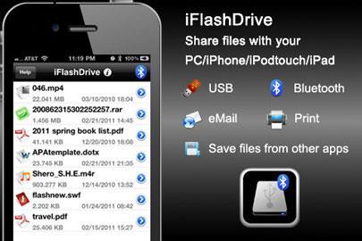 iFlashDrive pour iPhone