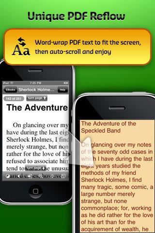 GoodReader pour iPhone
