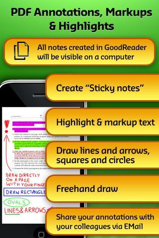 GoodReader für iPhone
