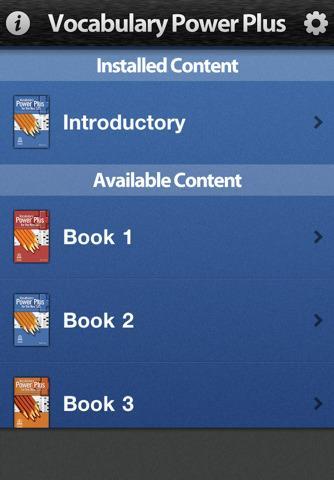 Vocabulary Power Plus pour iPhone