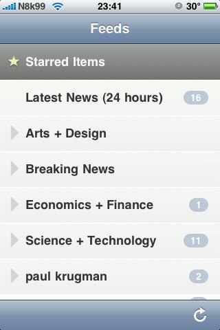 NetNewsWire für iPhone