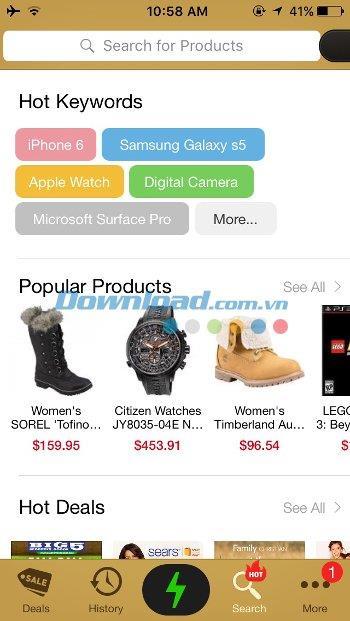 Analyse rapide pour iOS 1.6.6 - Application d'achat bon marché sur iPhone / iPad