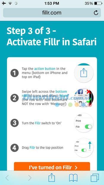 iOS0.9.13用のフィラー-iPhone / iPadでフォームに自動的に入力します