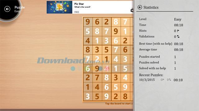 Sudoku Free 2.10.13.0 - Spielen Sie Sudoku kostenlos auf dem Computer