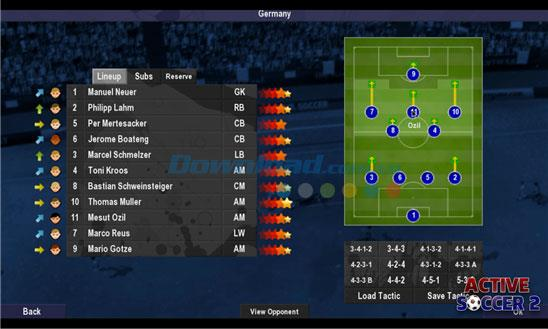 Active Soccer 2 for Windows Phone 1.1.1.0-WindowsPhoneのハイアングルサッカーゲーム