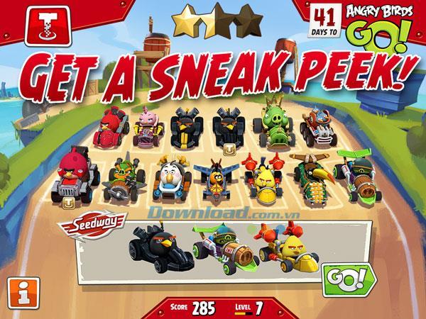 Angry Birds Go! Windows Phone1.6.3.0用-WindowsPhoneでのAngryBirds Racing Game