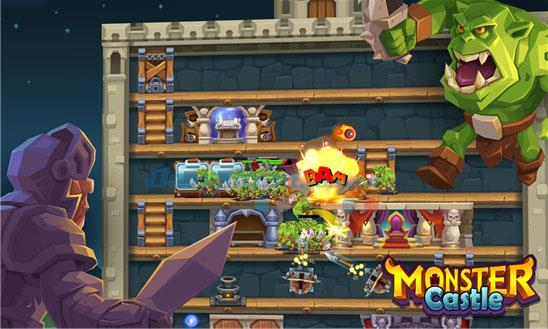 Monster Castle pour Windows Phone 1.0.1.0 - Gardien de but Game Monster sur Windows Phone