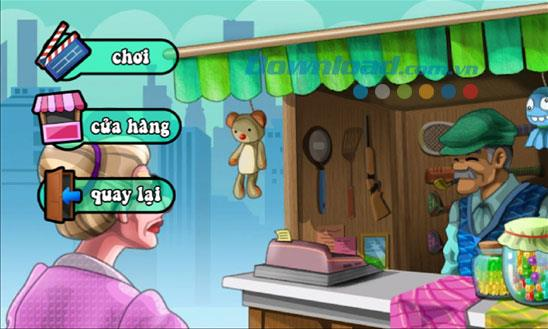 Raub der alten Frau 2014 für Windows Phone 1.0 - Spiel alte Frau schlug Diebe