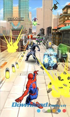 Spider-Man Unlimited für Windows Phone 1.2.2.20 - Spider-Man-Spiel für Windows Phone
