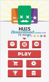 Hues for Windows Phone 1.0.0.6 - Jeu 2048 couleurs pour Windows Phone