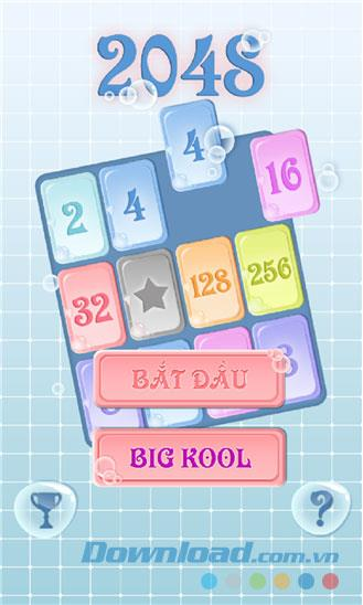 2048 for Windows Phone3.2.0.0-WindowsPhoneの知的パズルゲーム