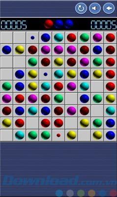Lines 98 Classic pour Windows Phone - Un jeu de match-ball classique
