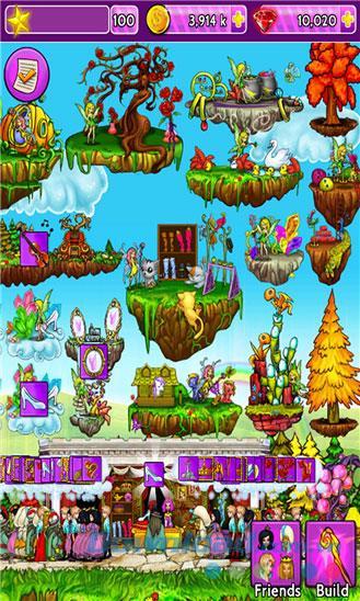 Fantasy Island for Windows Phone 9.0.1.0-WindowsPhoneでフェアリーランドを構築する