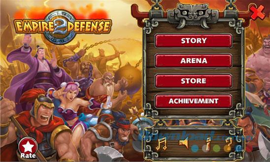 Empire Defense II pour Windows Phone 1.0.0.0 - Kingdom Defense sur Windows Phone