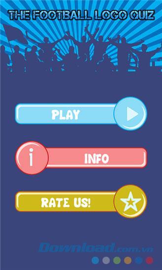 The Football Logo Quiz for Windows Phone 1.3.0.0 - Devinez les logos de l'équipe sur Windows Phone
