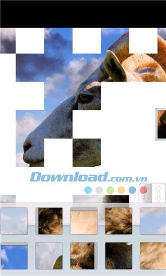 Windows Phone1.0.2.1用のアニメーションパズル-WindowsPhoneのインテリジェンスジグソーゲーム