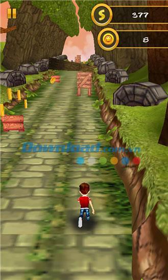3D Jungle Run pour Windows Phone 1.0.0.0 - Jeu d'évasion de la forêt verte sur Windows Phone